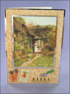 Kitchen Garden Carrots card