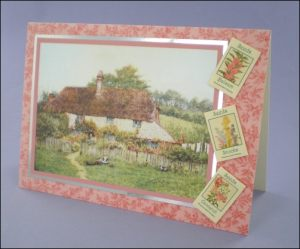 Pretty Cottage card