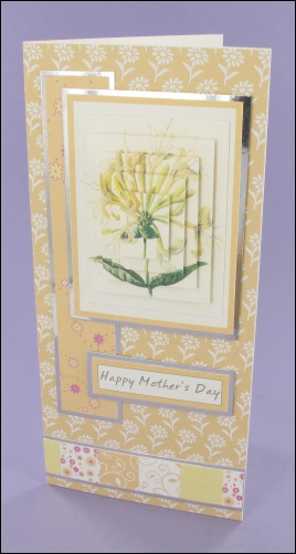 Honeysuckle Mothers Day card