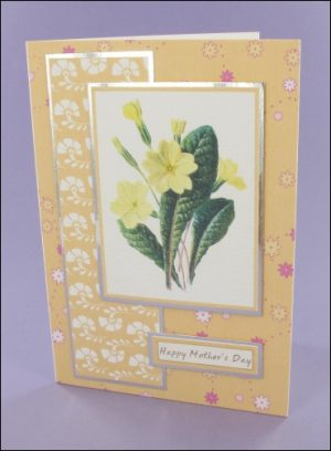 Primrose Mothers Day card