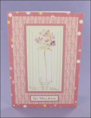 Thistle Sage Get Well Soon Pyramage Card