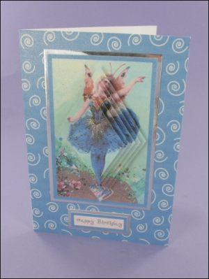 Blue Fairy Diamond Pyramage card