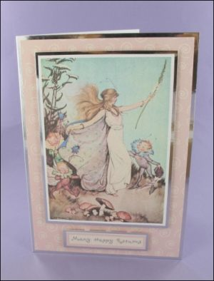 Queen of the Fairies card