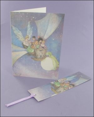 The Cradle Ship Notecard & Bookmark