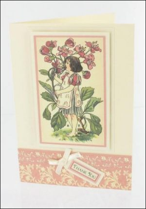 Hawthorn Girl card