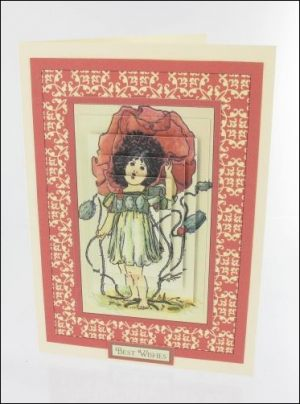 Poppy Girl card