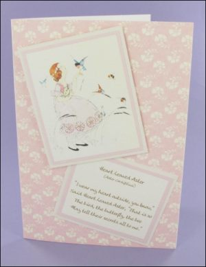 WFC Heart Leaved Aster card