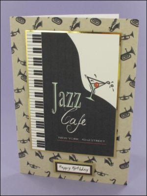 Jazz Café card