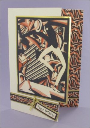 Jazz Man card