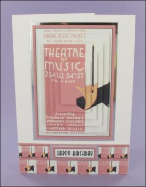 Theatre of Music card