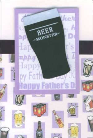 Beer monster card