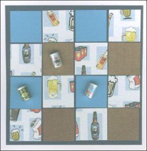 Beer squares card