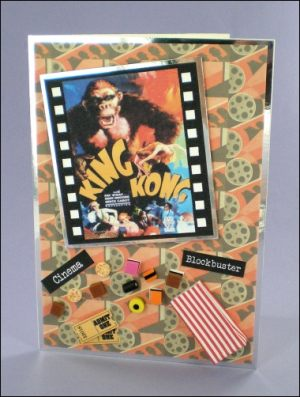 King Kong Movie card