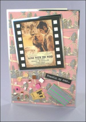 Gone with the Wind Movie Card