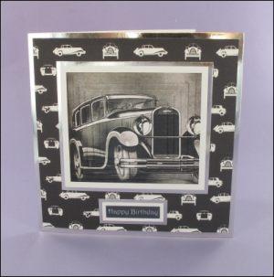 Chenard & Walcker Vintage Car card