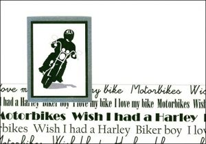 Motorbiker card