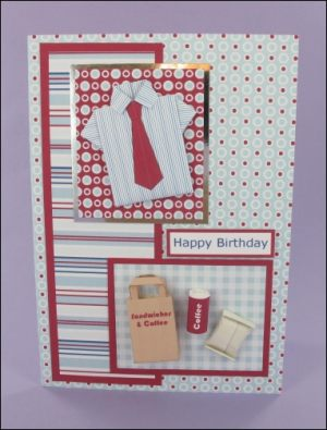 Origami Shirt & Lunch Card