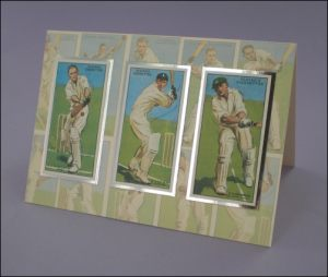 Cricketer Cigarette Cards card