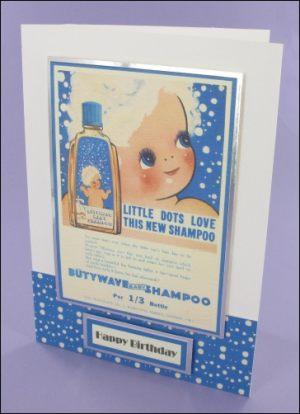 Butywave Shampoo card