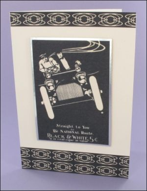 Monochrome Mens card