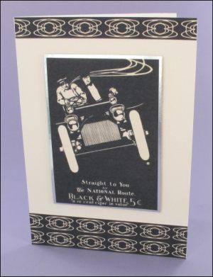 Monochrome Mens card