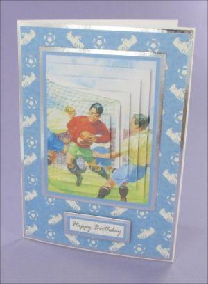 Football Pyramage card