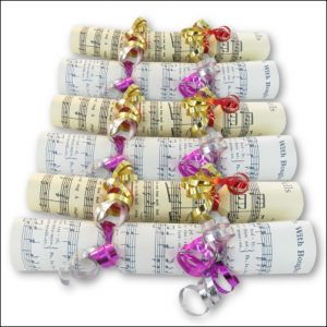 Music Christmas Crackers Original