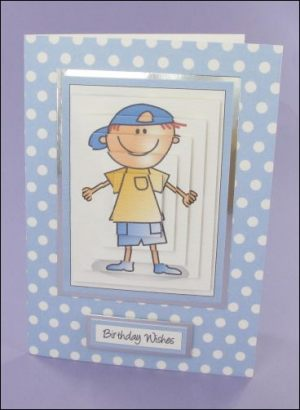 Lance Birthday card