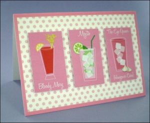 3 Long Cocktails Card