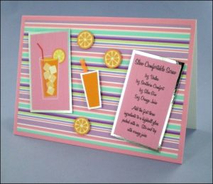 Slow Comfortable Screw Cocktail Card