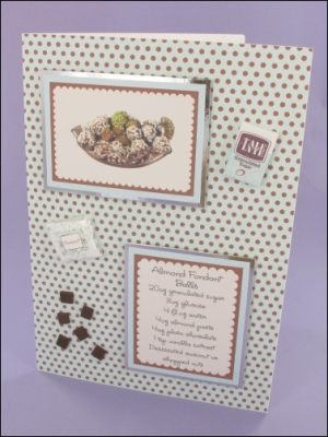 Almond Fondant Balls card