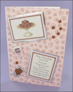 Plain Chocolate Caramels card