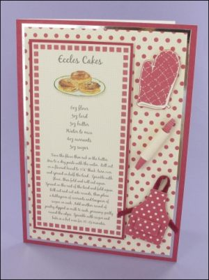 Eccles Cakes Recipe card