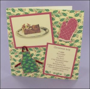 Christmas Log card