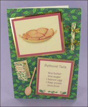 Petticoat Tails Shortbread card