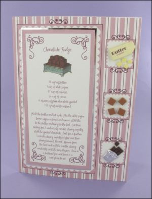 Chocolate Fudge card