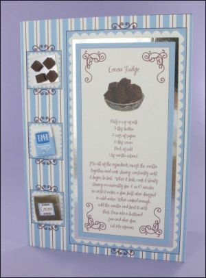 Cocoa Fudge card