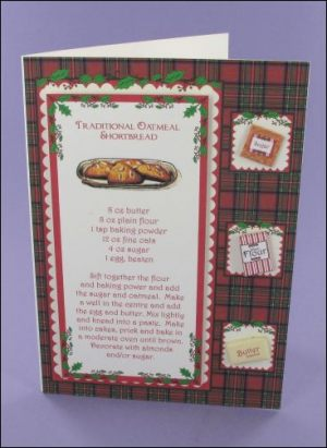 A6 Oatmeal Shortbread card