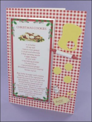 Christmas Cookies Recipe Card