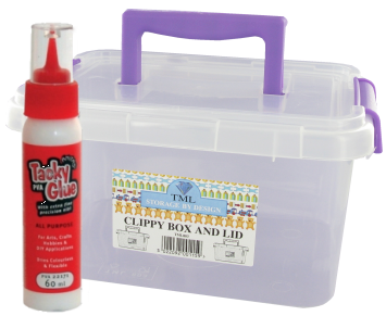 Glues, Tapes, Storage and Tools