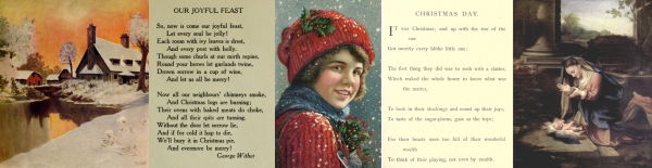 Christmas pictures and poems