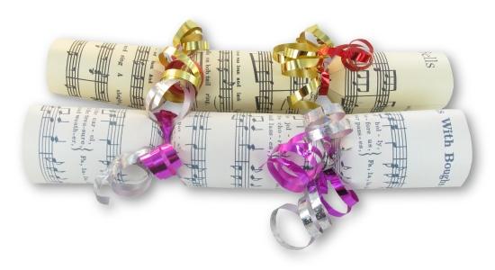 Music Christmas Crackers Original