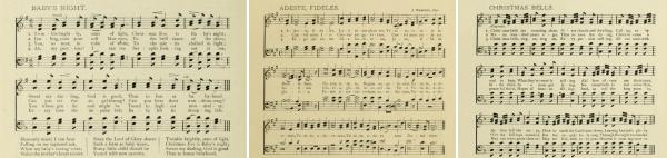 Christmas Music Sheets