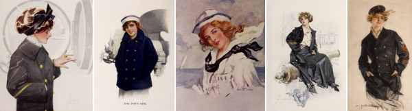 World War 1 Glamour girls
