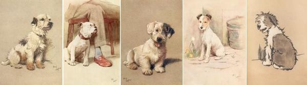 Cecil Aldin's dogs