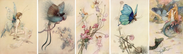 Warwick Goble fairy images