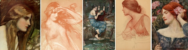 13 images included by John William Waterhouse